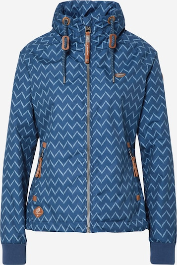 Ragwear Tussenjas 'APOLI ZIG ZAG' in de kleur Blauw denim / Offwhite, Productweergave