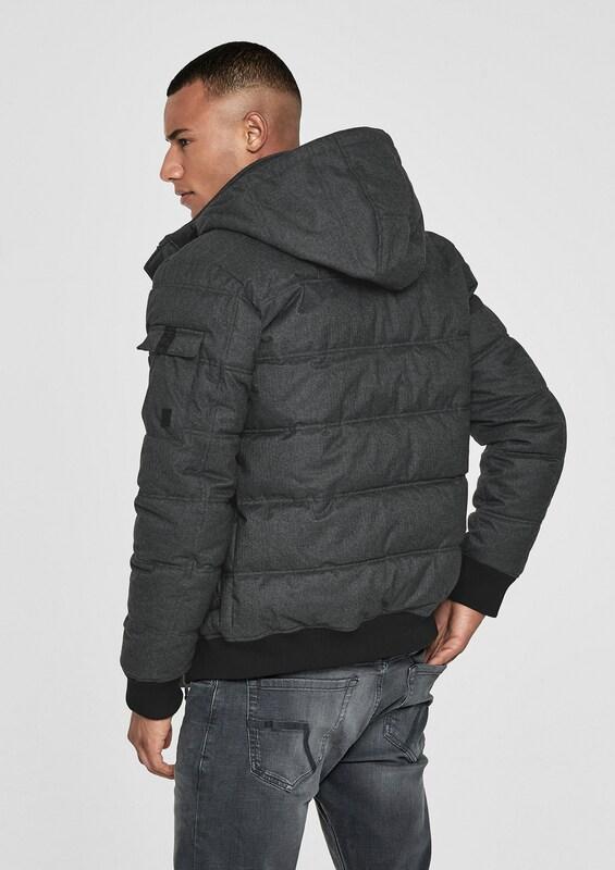 Jacke s Designed By Q Schwarzmeliert xtz6SnvW6R