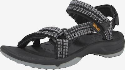 TEVA Sandale in grau / schwarz, Produktansicht