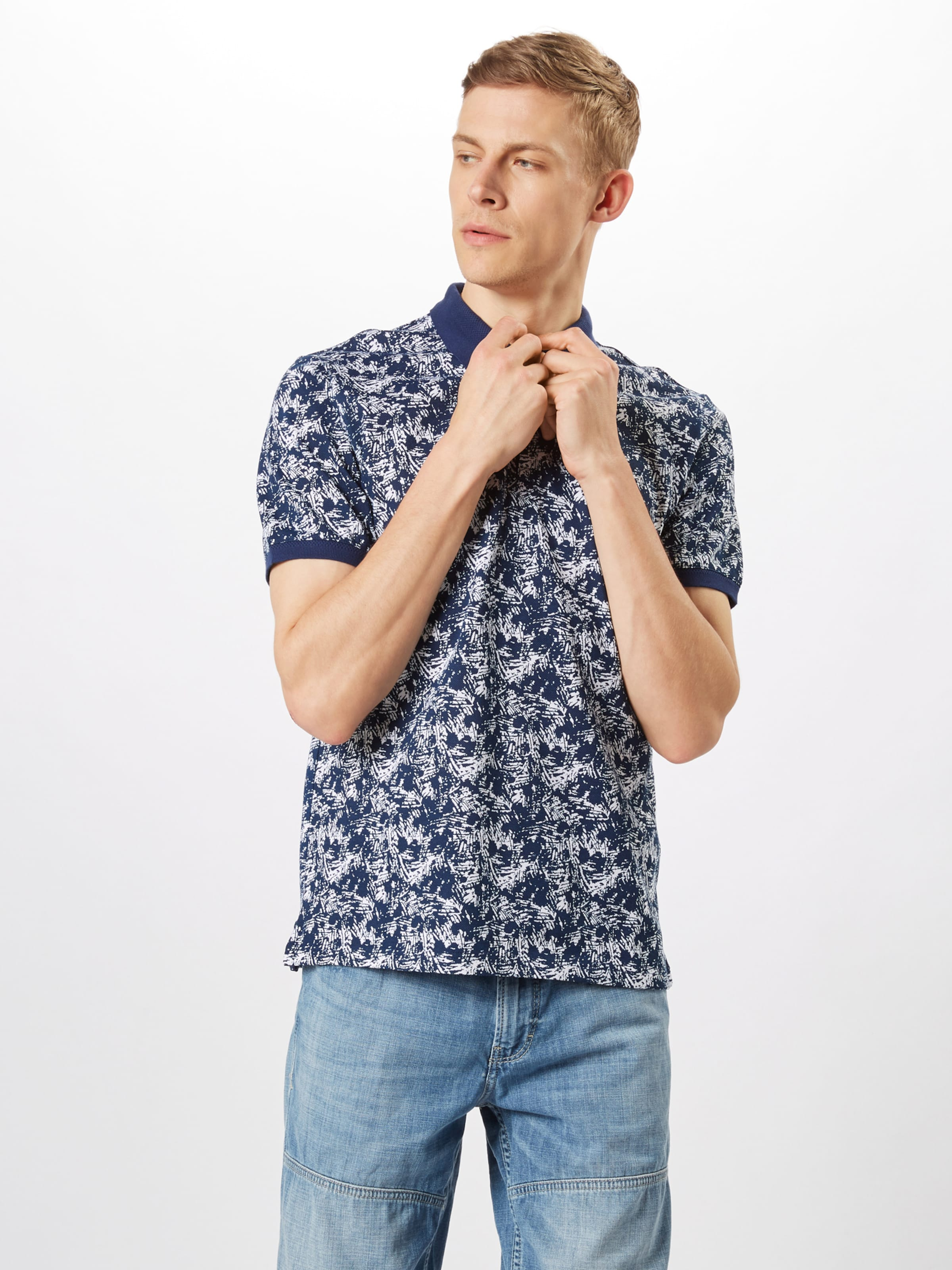 Red oliver In Dunkelblau Label Poloshirt S E2YDHIeW9b