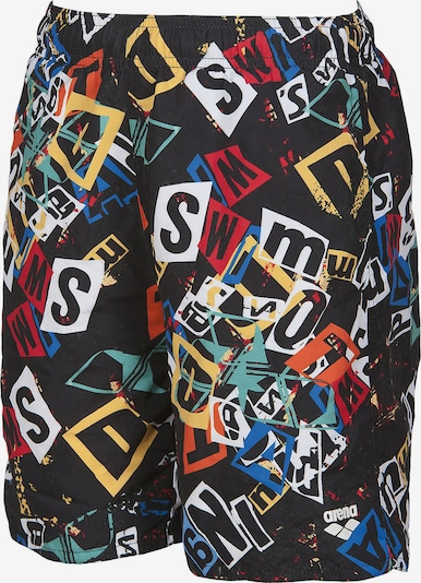 ARENA Badeshorts 'Rowdy' in mischfarben / schwarz, Produktansicht