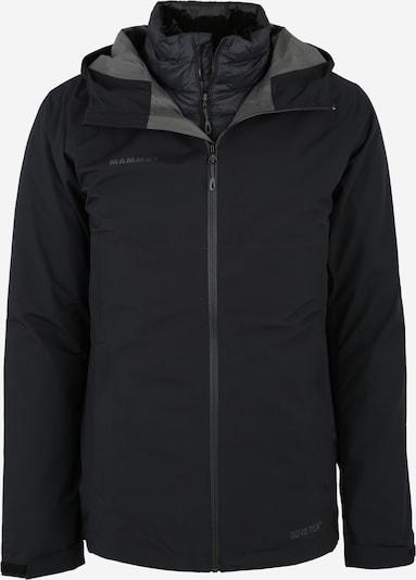 MAMMUT Outdoorjas 'Convey 3 in 1 HS' in de kleur Zwart, Productweergave