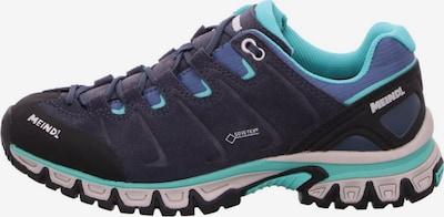 MEINDL Lage schoen in de kleur Navy / Turquoise / Zwart, Productweergave