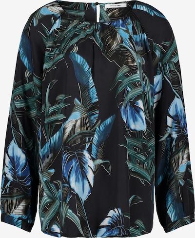 Public Bluse in dunkelblau, Produktansicht