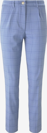 MINE TO FIVE Hosen & Chino Karierte Chino Hose in pastellblau, Produktansicht