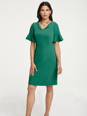 heine Sheath Dress in Green
