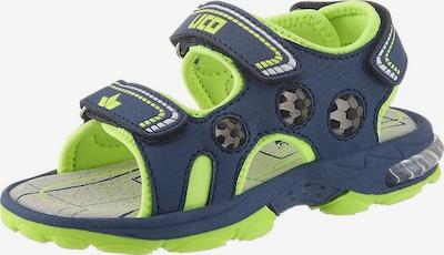 LICO Sandale in blau, Produktansicht