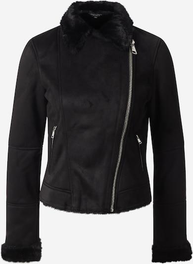 Dorothy Perkins Lederimitatsjacke 'SHEARLING ' in schwarz, Produktansicht