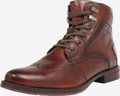 bugatti Buty sznurowane 'Lussorio' w kolorze nakrapiany brązowym, Podgląd produktu