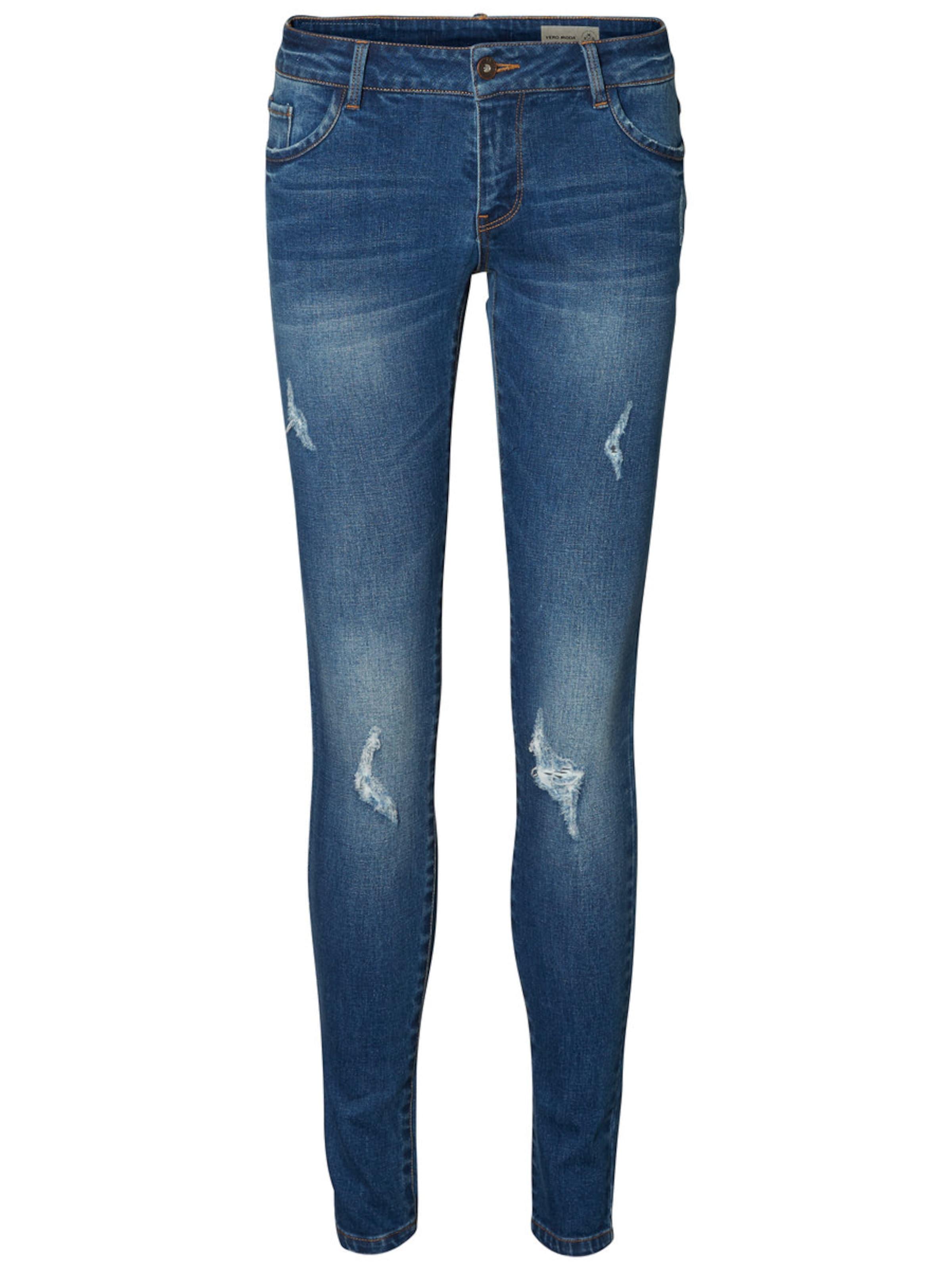 VERO MODA Five LW Skinny Fit Jeans Billig Verkauf Extrem LK12SbGqp