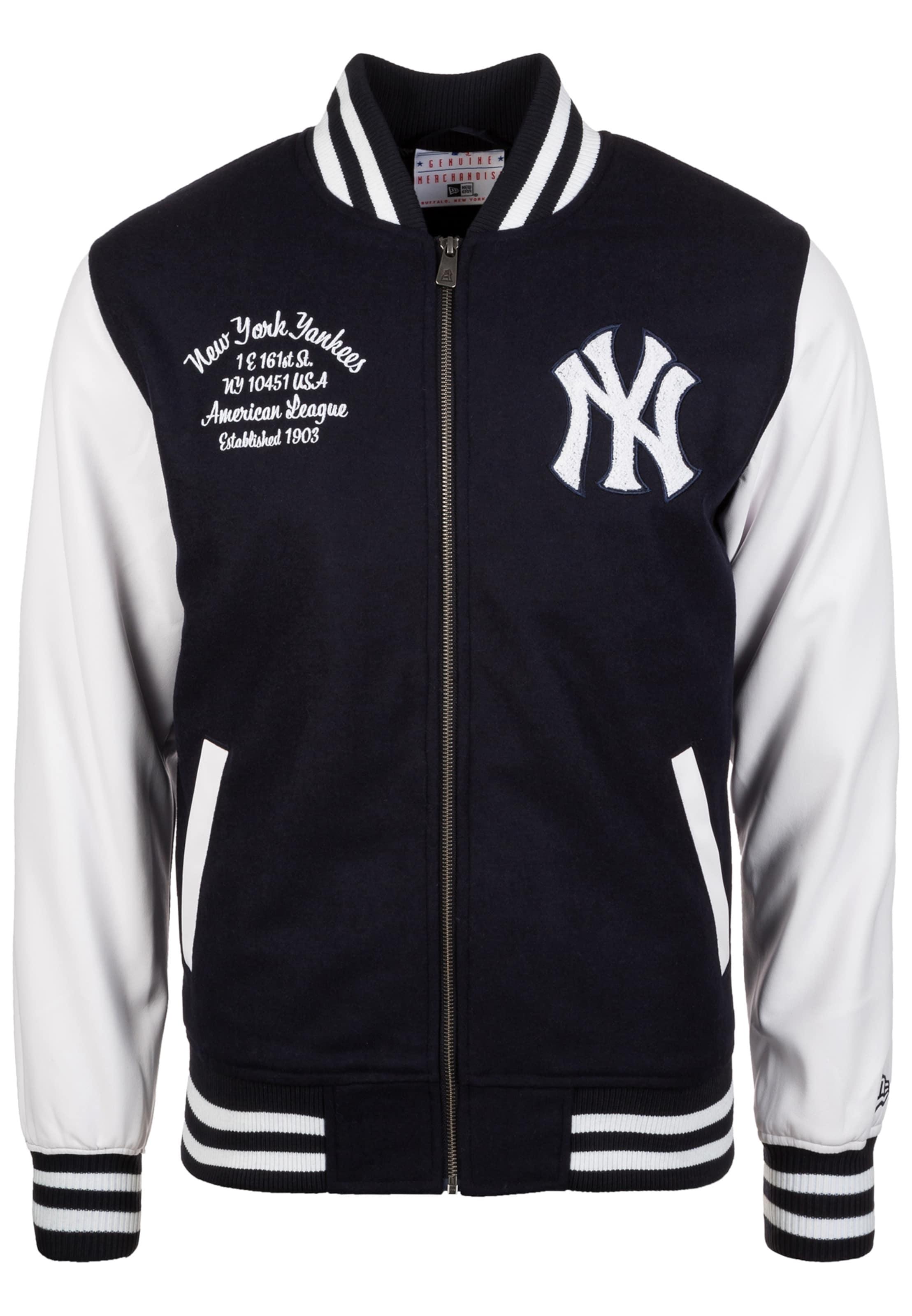 Era MarineBlanc Yankees' Varsity En 'mlb York Veste New saison Mi pzqUSVM