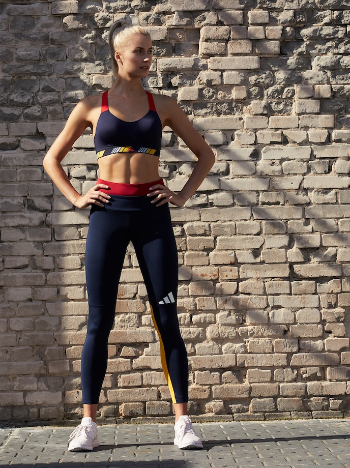 Lena & Lena trainieren mit: adidas Performance | ABOUT YOU