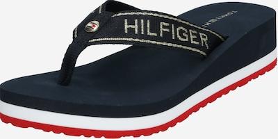 TOMMY HILFIGER Japonke 'RIRI 25D' | temno modra / rdeča / bela barva, Prikaz izdelka