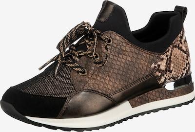 REMONTE Sneaker in beige / braun / dunkelbraun / schwarz, Produktansicht