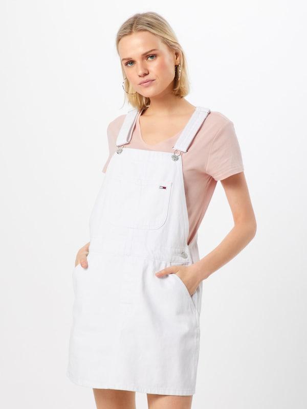 Jupe Dungaree' Blanc salopette Tommy 'classic Jeans En Y76gvIbyfm