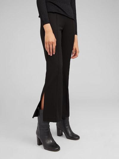 EDITED Broek 'Saba' in de kleur Zwart, Modelweergave