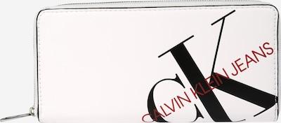 Calvin Klein Jeans Denarnica 'ZIP AROUND' | bela barva, Prikaz izdelka