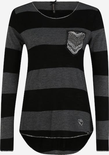 Key Largo Sweatshirt 'JANINA' in anthrazit / graphit / silber, Produktansicht