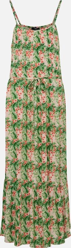 Kleid dr1' Mischfarben Grün Point 'issa Sisters wP5qvS15