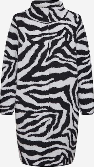 monari Mantel in schwarz / weiß, Produktansicht