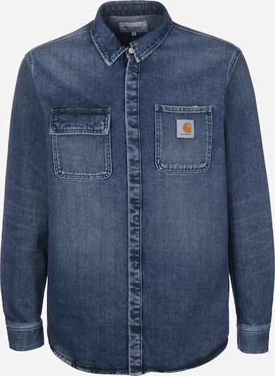 Carhartt WIP Langarmhemd ' Salinac ' in blue denim, Produktansicht