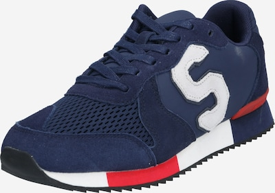 Superdry Sneaker 'RETRO RUNNER' in navy / rot, Produktansicht