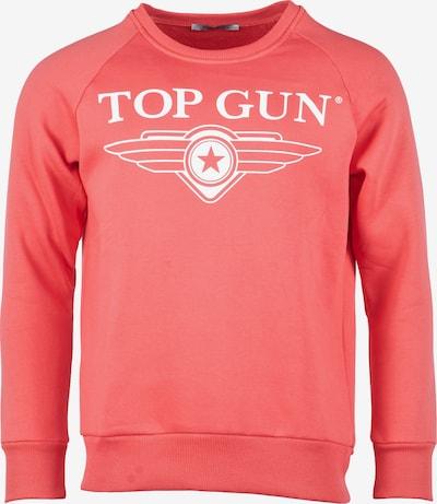 TOP GUN Sweatshirt 'Soft' in koralle, Produktansicht