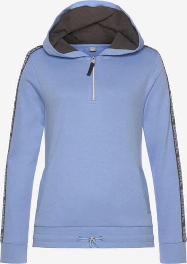 BENCH Sweat-shirt en bleu / noir, Vue avec produit