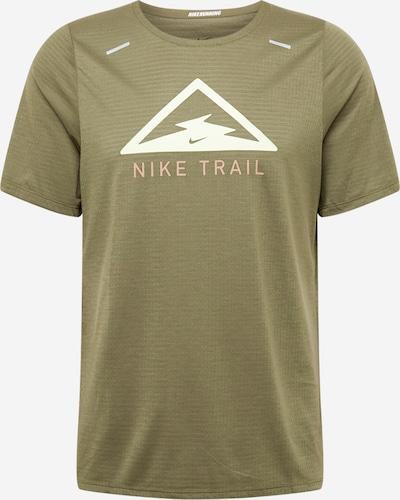 Sportiniai marškinėliai 'Rise Trail' iš NIKE , spalva - alyvuogių spalva, Prekių apžvalga