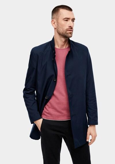 s.Oliver BLACK LABEL Mantel in dunkelblau, Modelansicht