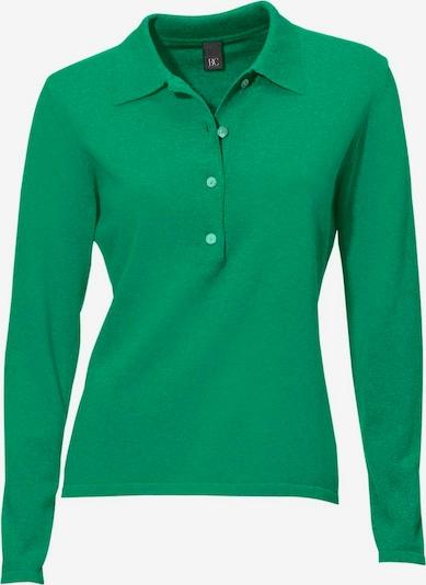 heine Tröja i grönmelerad: Sedd framifrån