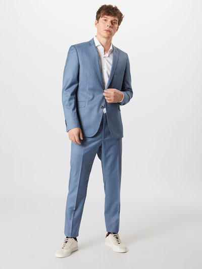 STRELLSON Anzug in royalblau: Frontalansicht