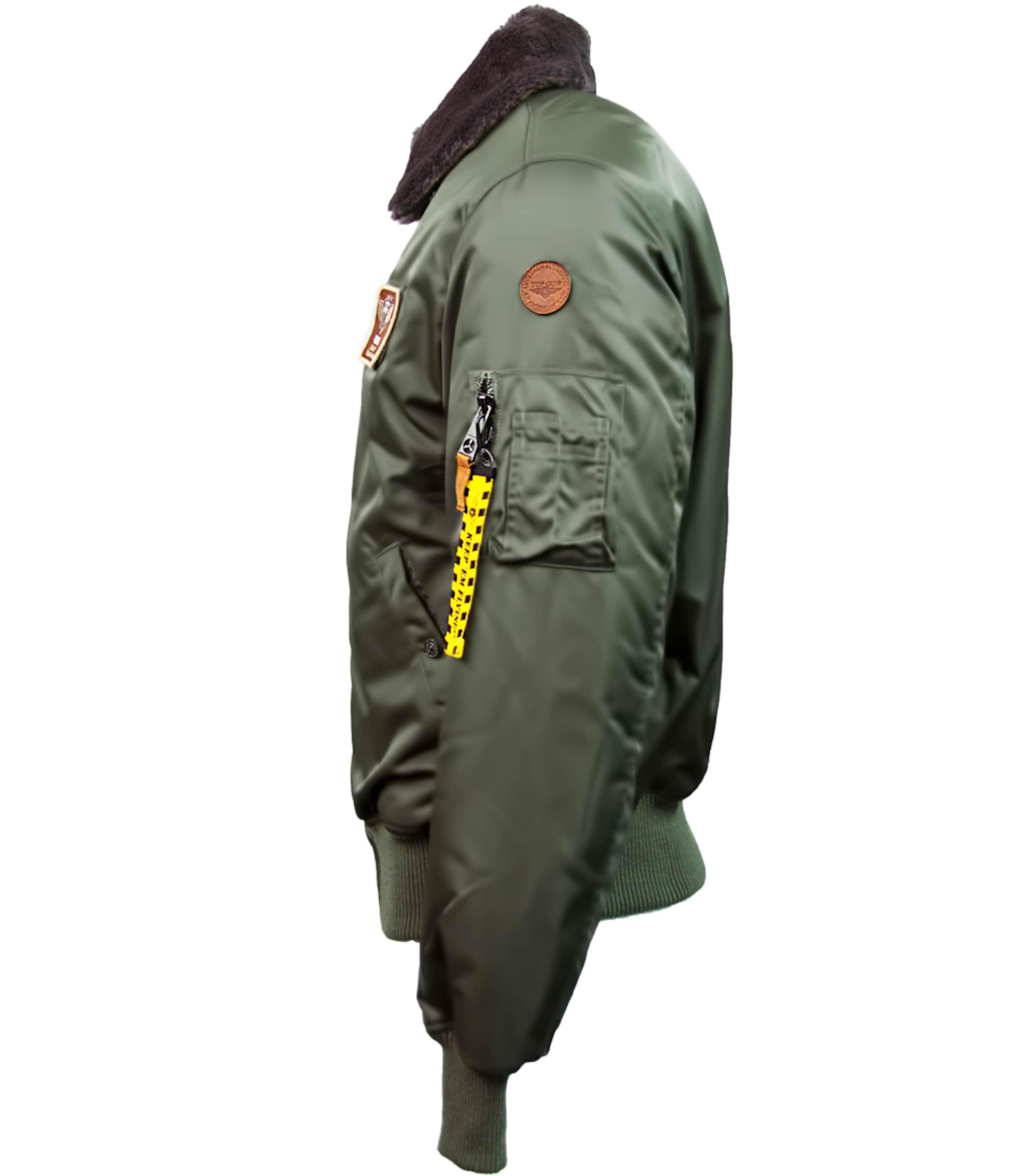 Gun Top Pilotenjacke 'fly' In Oliv v0m8Nnw