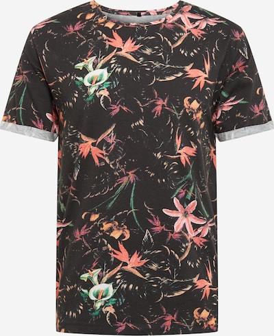 Key Largo Shirt 'JUNGLES' in de kleur Rood / Zwart, Productweergave
