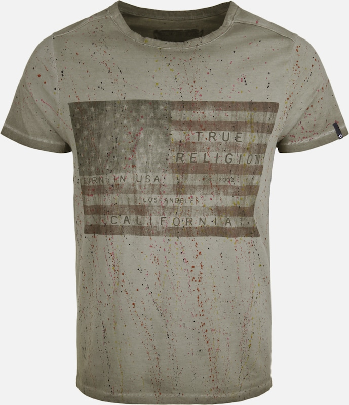 True Religion T-Shirt AMERICAN FLAG DUSTY