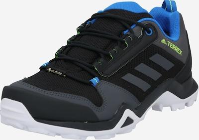 ADIDAS PERFORMANCE Chaussure basse en bleu / gris basalte / noir, Vue avec produit