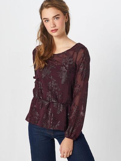 VILA Bluse in burgunder, Modelansicht