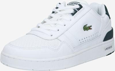 LACOSTE Sneaker 'T-CLIP 0120 4 SFA' in dunkelgrün / weiß, Produktansicht