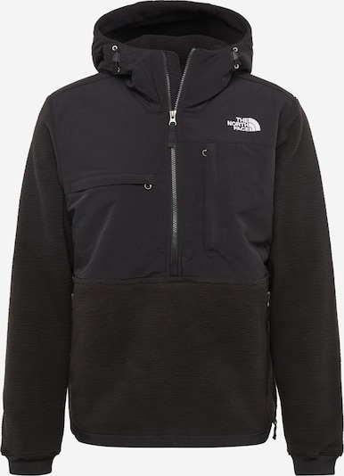 THE NORTH FACE Jacke 'Denali' in schwarz / weiß, Produktansicht
