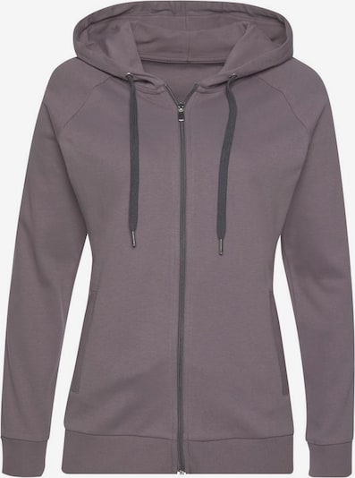 LASCANA ACTIVE Trainingsjacke in taupe, Produktansicht
