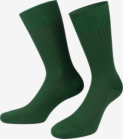 PATRON SOCKS Čarape 'Pelican Gift Box' u tamno zelena / ljubičasta / crna, Pregled proizvoda