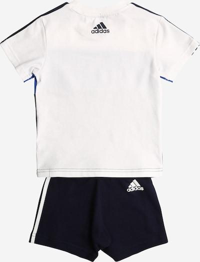 ADIDAS PERFORMANCE Trainingspak in de kleur Nachtblauw / Hemelsblauw / Wit: Achteraanzicht