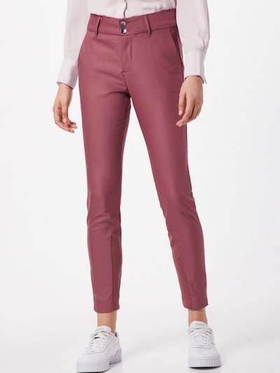 MOS MOSH Hose 'Blake Night Pant Sustainable' in pflaume: Frontalansicht