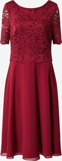 Vera Mont Koktejlové šaty - rubínově červená: Pohled zepředu