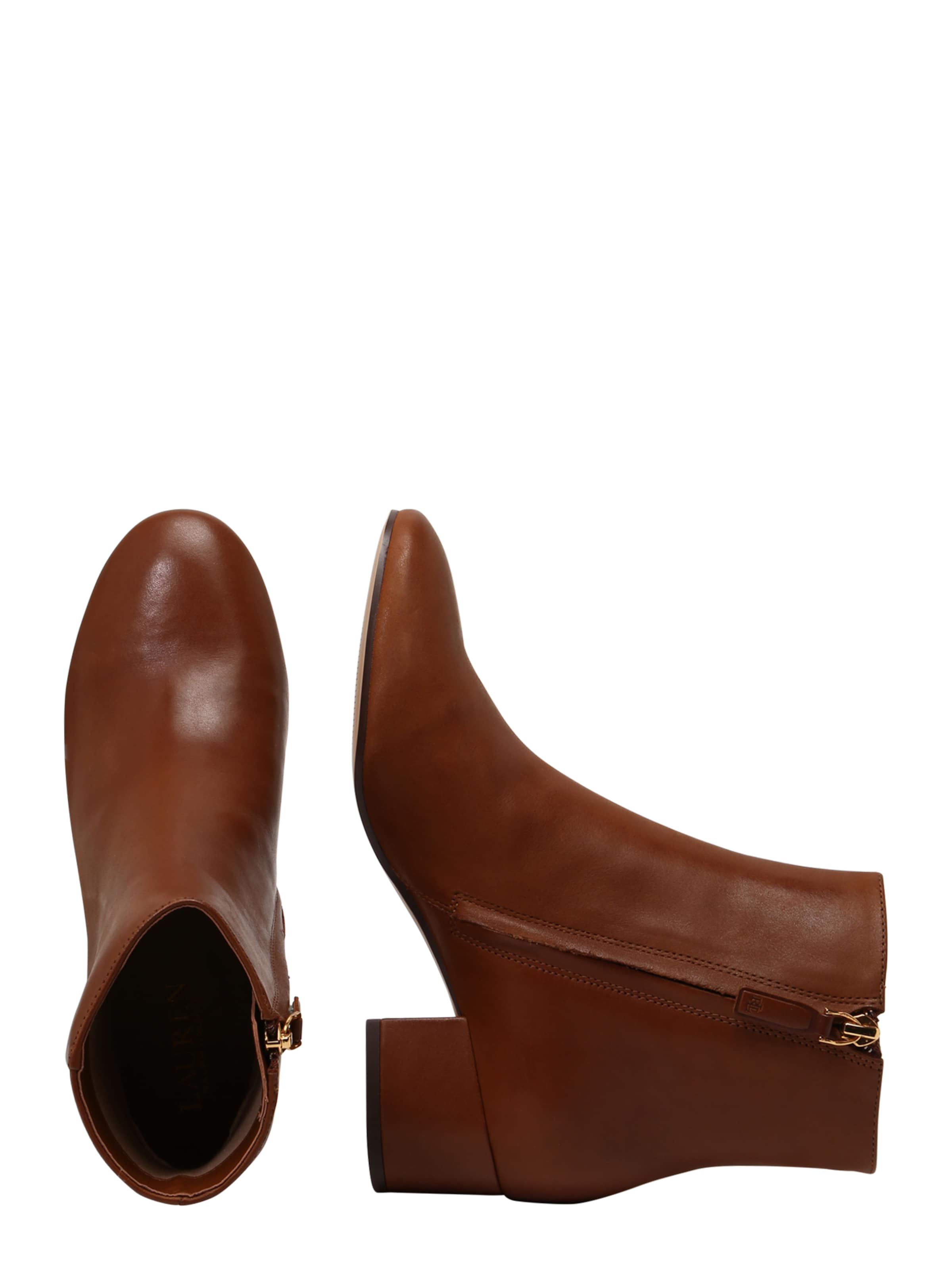 Marron 'welford' Lauren Ralph Bottines En sthrQd