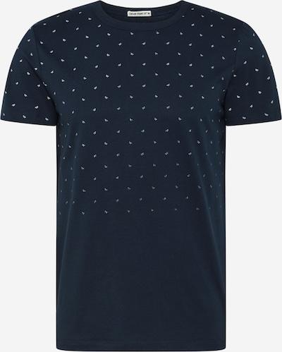 TOM TAILOR DENIM T-Shirt in dunkelblau / weiß, Produktansicht