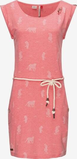 Ragwear Jerseykleid ' Tag Tiger ' in pink, Produktansicht