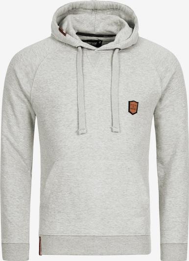 INDICODE JEANS Sweatshirt 'Litcham' in hellgrau, Produktansicht