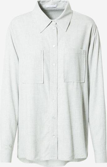 OPUS Bluse 'Frilli' in graumeliert, Produktansicht