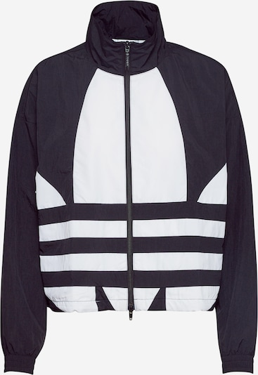 ADIDAS ORIGINALS Trainingsjacke in schwarz / weiß, Produktansicht